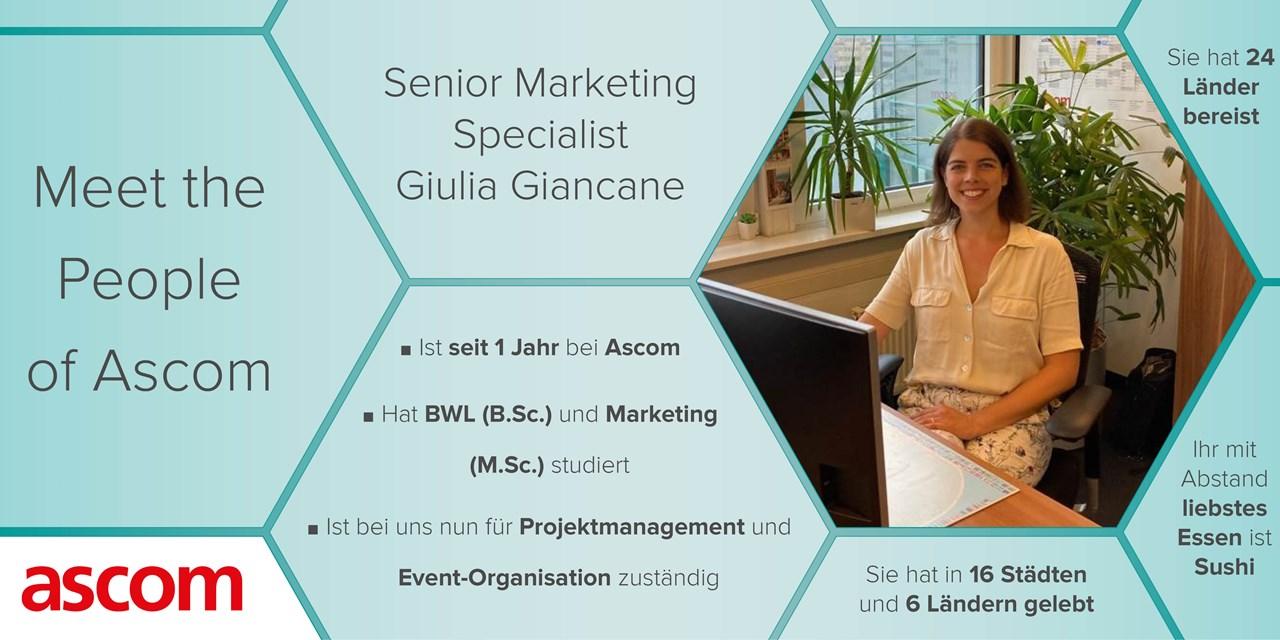 Interview Giulia Giancane - People of Ascom